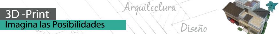 impresiones 3d para arquitectura